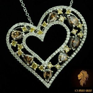 Levian Red Carpet / 4.6 CT Diamond Necklace